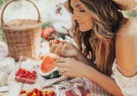 Մրգով եւ բանջարեղենով ամառային դիետա